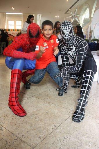 personagem pra festa infantil homem aranha Homem Aranha