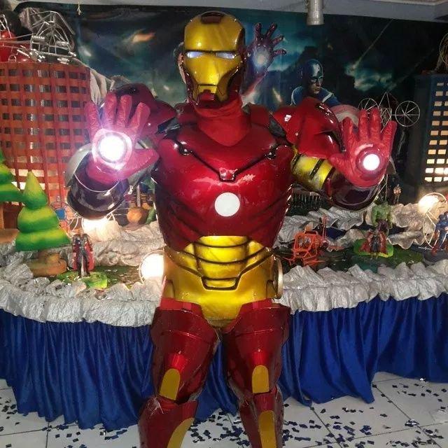 personagem pra festa infantil Homem de Ferro