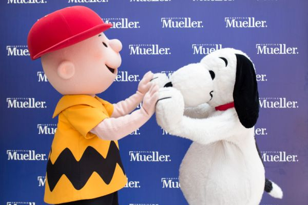 Personagem para festa infantil snoopy