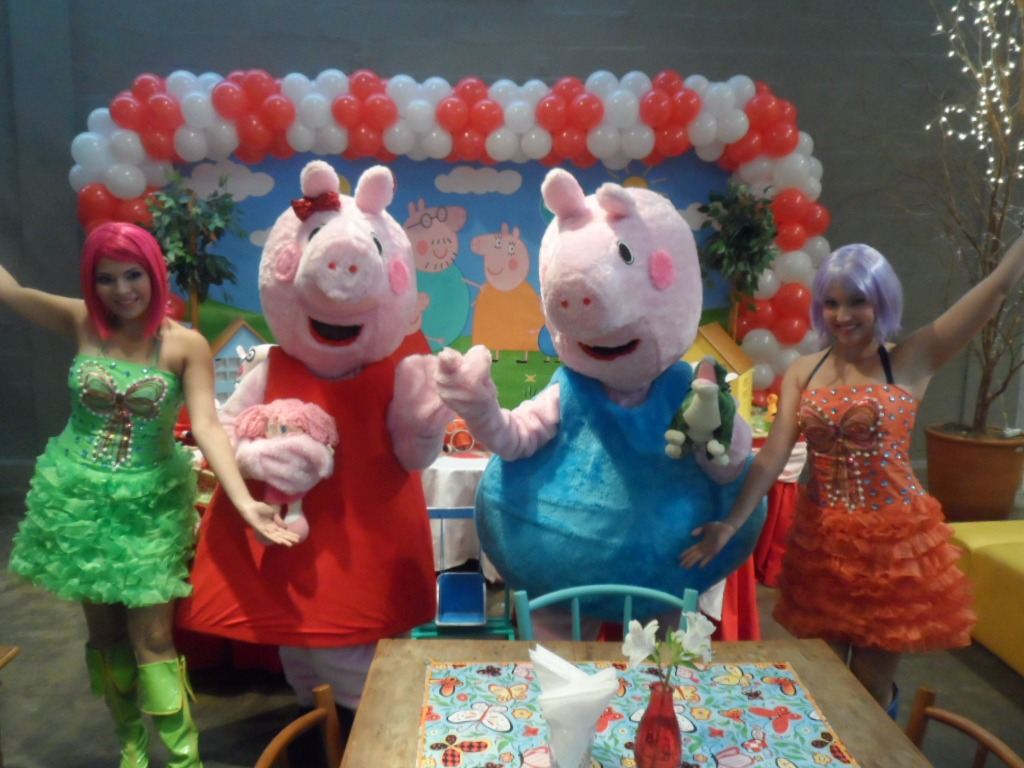 personagem para festa infantil Peppa Pig